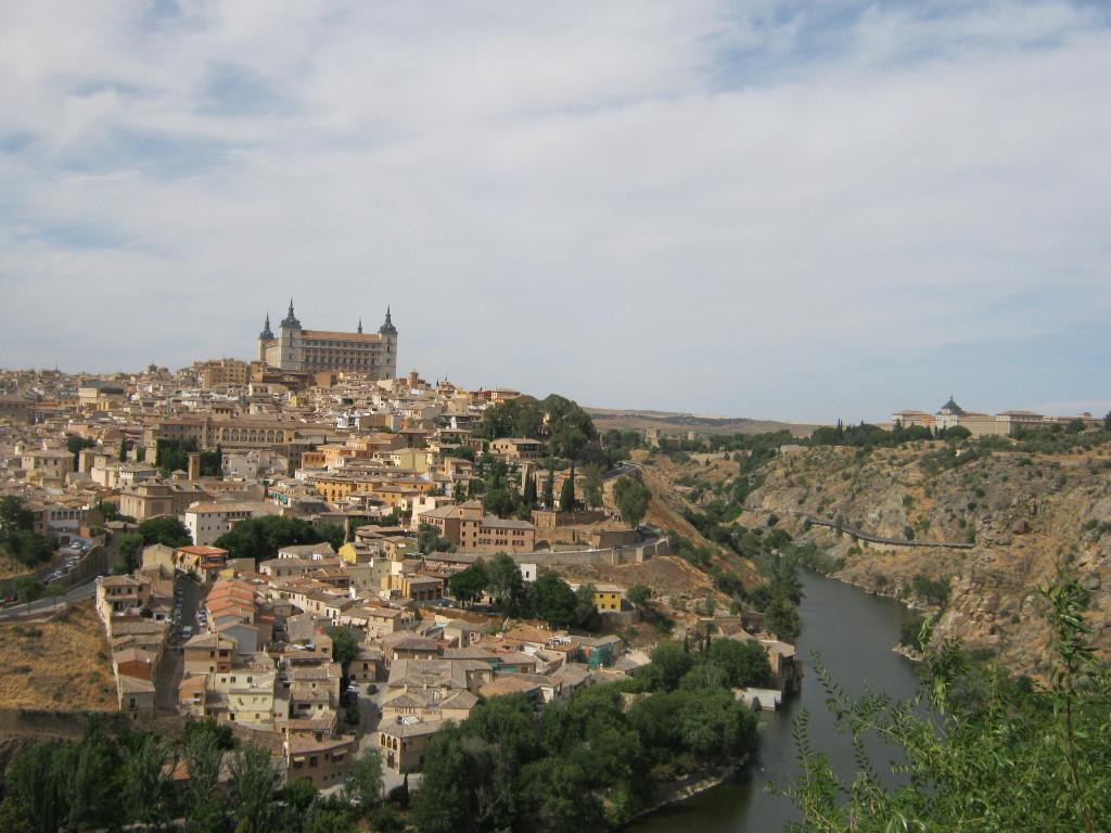 Vedere Toledo - Raul Tajo si Alcazarul